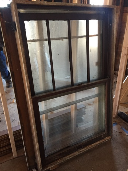 Windows are being removed as I type this blog post